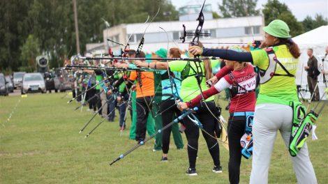 Alytuje virė lankininkų kovos dėl medalių ir kelialapių į pasaulio čempionatą