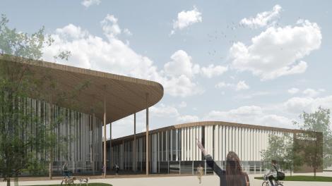 Klaipėdos rajonas atveria horizontus sportui: Gargžduose projektuojamas modernus daugiafunkcis sporto centras