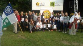 Kelmės rajono delegacija dalyvavo pirmosiose Lietuvos etnožaidynėse