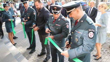 Atidarytas rekonstruotas Tauragės apskrities vyriausiojo policijos komisariato Šilutės rajono policijos komisariatas