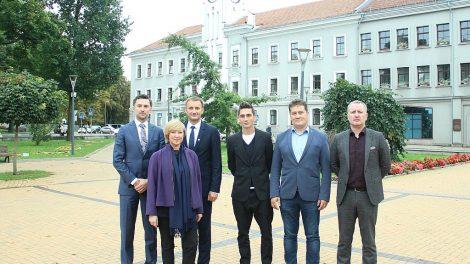 Susidomėjo Šiaulių futbolo ateitimi