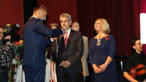 Mero padėkos vakare - garbės piliečių inauguracija, dėmesys šeimai ir kultūrai