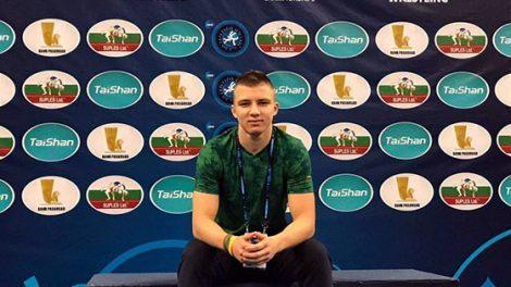 Radviliškio imtynininkas Tomas Kačiukevičius–pasaulio jaunių laisvųjų imtynių čempionato dalyvis