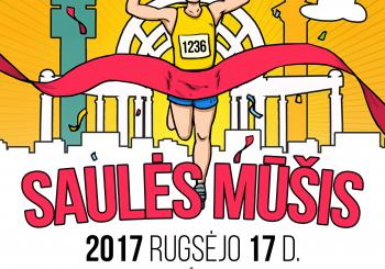 """Bėgimas ,,SAULĖS MŪŠIS 2017""""  jau šį sekmadienį!"""