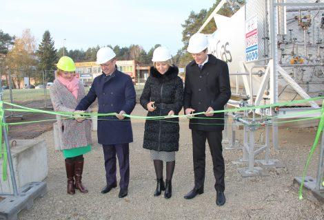 Druskininkuose pradėjo veikti laikina suskystintų gamtinių dujų stotelė