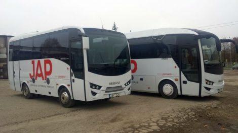 Joniškio autobusų parke – du nauji autobusai