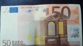 Netikri eurai Utenos apskrityje