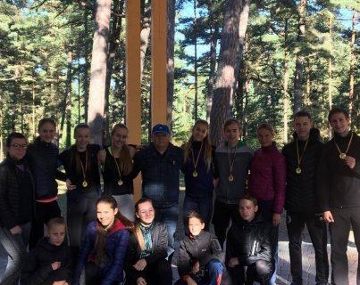 Panevėžiečiai – Lietuvos moksleivių kroso varžybų čempionų gretose