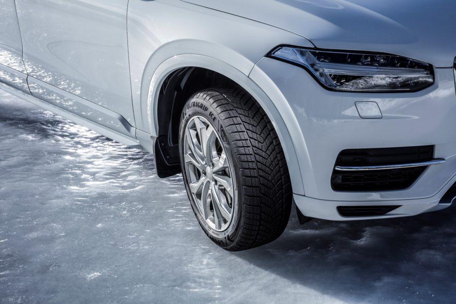 """""""Goodyear"""": saugus važiavimas žiemos keliais"""