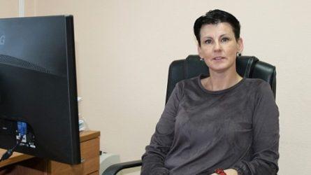 """Vaikų globos namų ,,Šaltinėlis"""" direktorės pareigas pradėjo eiti Lina Baziliauskienė"""