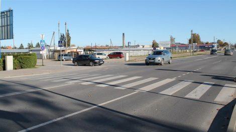Saugumui užtikrinti bus įrengtas šviesoforas Dariaus ir Girėno, Veterinarijos ir Bernotiškės gatvių sankryžoje