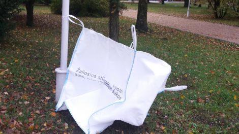 Didmaišiai žaliosioms atliekoms jau Šiaulių miesto erdvėse