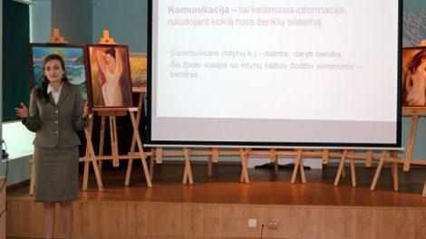Viešųjų ryšių mokymų ciklas Radviliškio bibliotekininkams