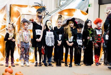 Šimtai vaikų Kaune varžėsi dėl baisiausio Helovino kostiumo (nuotraukų galerija)