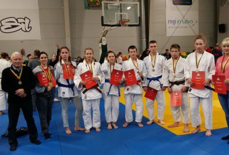 Iš Lietuvos Respublikos dziudo žaidynių alytiškiai grįžo su 10 medalių