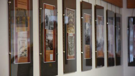 Šiaulių valstybinės kolegijos bibliotekoje – iškiliam šiauliečiui skirta paroda