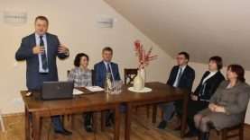 Telšių rajono savivaldybės administracija surengė susitikimą su turizmo sektoriaus verslininkais