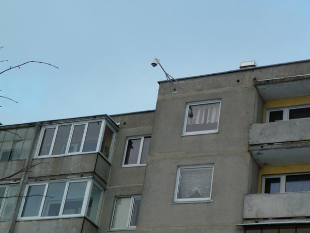 Gyventojų saugumui užtikrinti miestas stebimas vaizdo kameromis