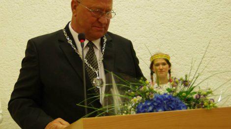 Sveikinimas Druskininkų garbės piliečiui V. Malinauskui