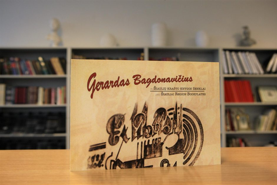 Nauja knyga apie menininką Gerardą Bagdonavičių ir Šiaulių krašto ekslibrisus