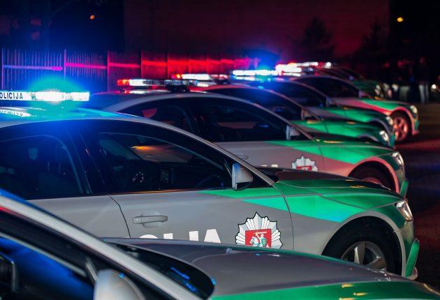 Policija keičia tarnybinių automobilių dizainą