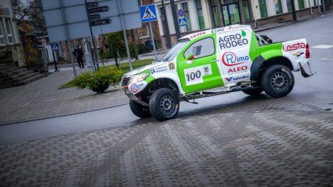 """""""Agrorodeo"""" Dakaro komanda pradžiugino joniškiečius"""