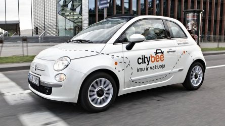 """Kauniečių pergalė: """"CityBee"""" laikinojoje sostinėje padidino automobilių skaičių"""