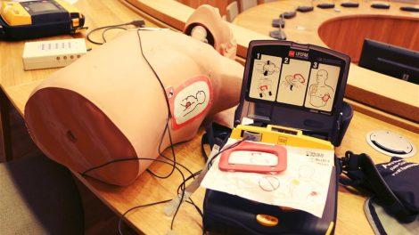 Keturiose Alytaus įstaigose įrengti - defibriliatoriai