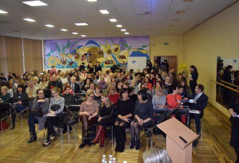 Konferencijoje apie autistiškų vaikų ugdymą – beveik 200 dalyvių
