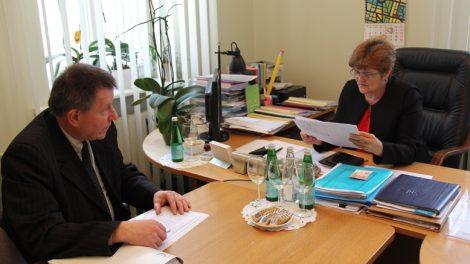 Posėdžiavo Žemės ūkio rėmimo programos įgyvendinimo komisija