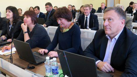 Šiaulių rajono taryba teigiamai balsavo dėl patikslinto šių metų biudžeto.