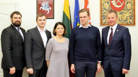 Seimo nariai G. Landsbergis ir S. Šedbaras lankosi Tauragėje