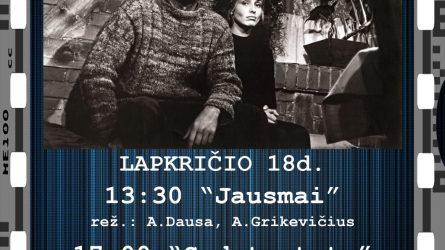 Lietuviško kino klasikos seansai Šiauliuose