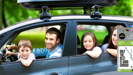 Automobilio kvapai - optimizmui žadinti ir intelektui lavinti