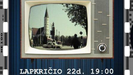 """Kino retrospektyva """"Senas televizorius"""""""