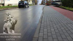 Telšių rajono savivaldybė tvarko rajono gatves