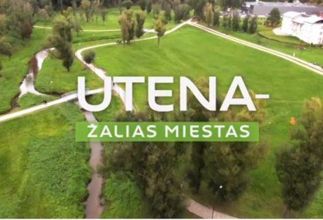 """Kviečiame žiūrėti vaizdo įrašą """"Utena - žalias miestas"""" (video)"""