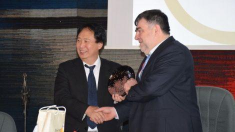 Lankėsi Japonijos ambasadorius Jo Ekscelencija Toyoei Shigeeda