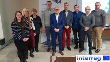 Projekto dalyviai seminare Lenkijoje