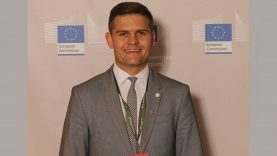 """,,Už tarptautinę patirtį Lietuvos regionams"""" nominuotas Savivaldybės mero patarėjas Dovydas Kaminskas"""