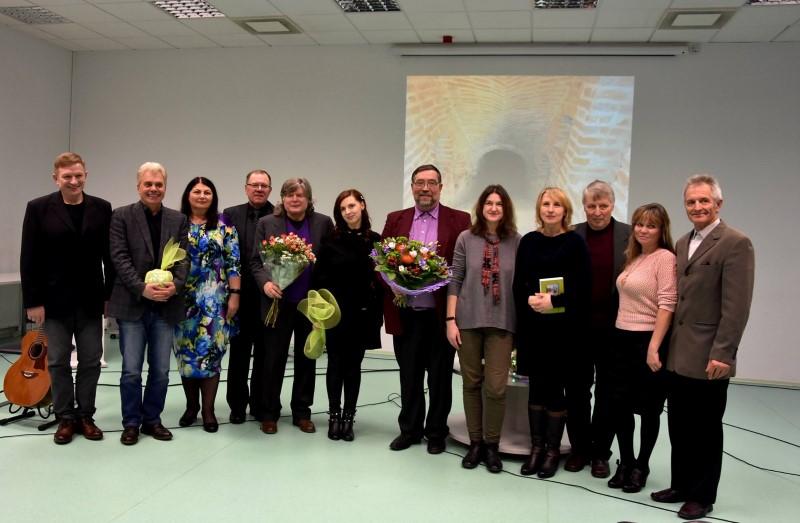 Utenos rajono savivaldybės mero premiją pelnė poetas Edmundas Janušaitis
