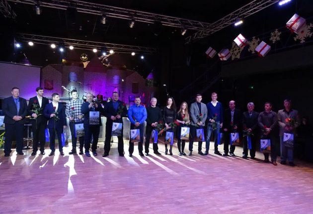 Pagerbti geriausi 2017 metų rajono sportininkai