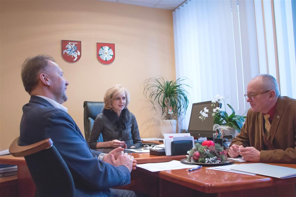 Valstybinės kalbos institucijų vadovų viešnagė