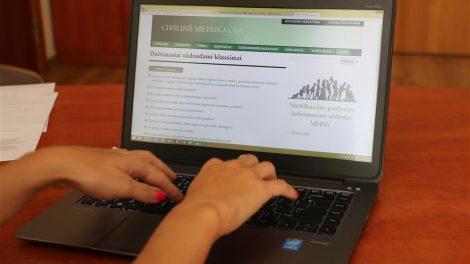 Užsisakykite civilinės metrikacijos paslaugas elektroniniu būdu