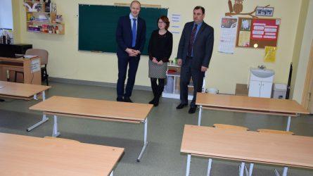 Dar viena Vilkaviškio rajono mokykla tapo jaukesnė