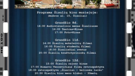 Įvairiaspalvė puokštė šiaulietiškų filmų – Šiaulių kino muziejuje