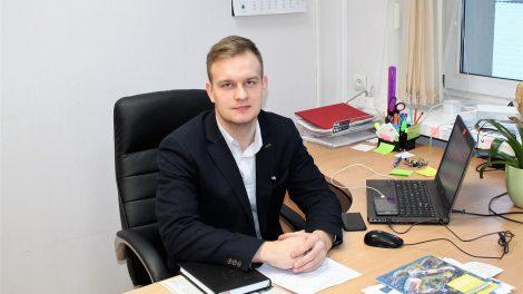 Tauragės rajono savivaldybės mero patarėjo pareigas pradėjo eiti Artūras Fetingis