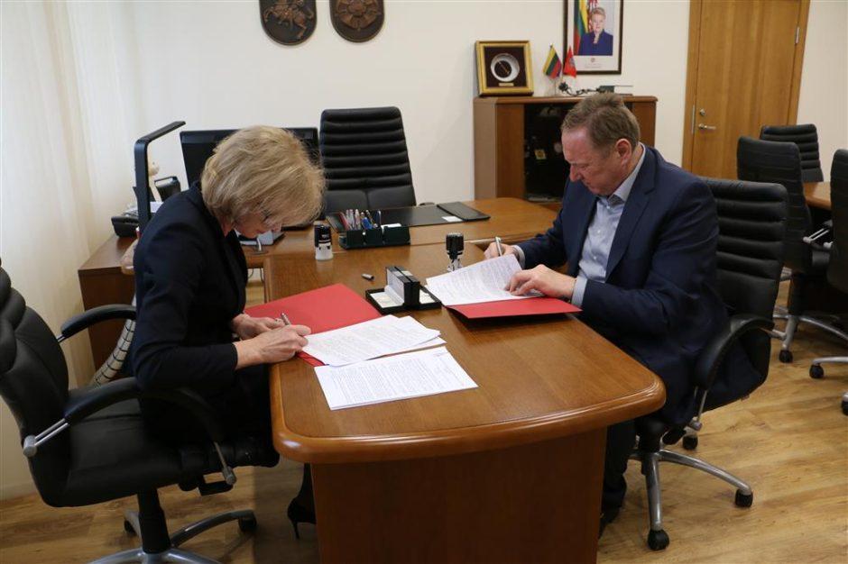 """Alytuje pasirašyta investicijų sutartis su AB """"Kauno grūdai"""""""