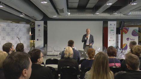 """(VIDEO ĮRAŠAS) Tarptautininė konferencija """"Globalizacija ir ekonominis patriotizmas: dilemos, iššūkiai, galimybės"""" - Panelinė diskusija Konkurencija dėl talentų"""