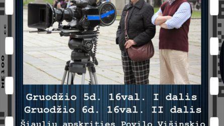 Susitikimas su kino režisieriumi Rimantu Gruodžiu